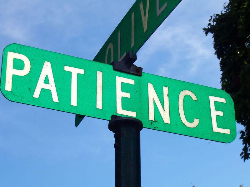 blog paciência